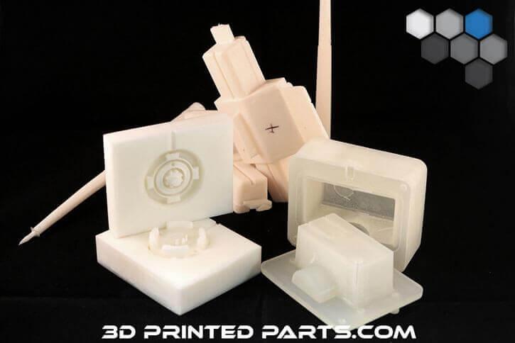 3D plastic parts
