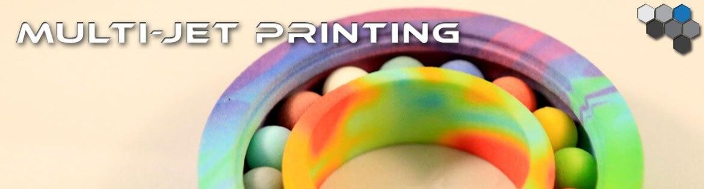 Multi Jet Printing - 3D Capabilities - 3D Printed Parts