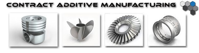 Contract Additive Manufacturing - 3D Printed Parts