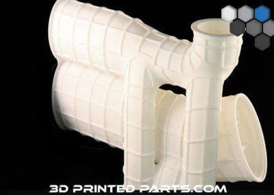 3D Printed Plastic Tube