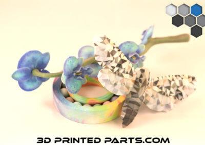 3D Printed Parts Color Jet Prints