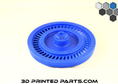 3D Printed Parts Blue Thing
