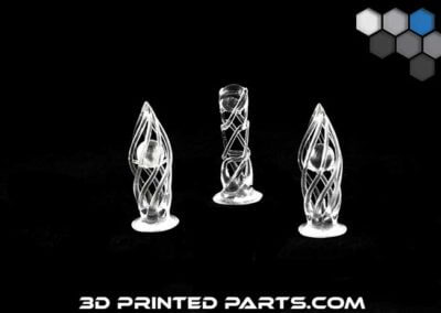 Optically Clear Chess Pieces