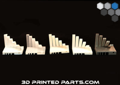 3D Printed Parts - Tolerance Test