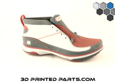 3D Printed Parts - Color Jet Shoe