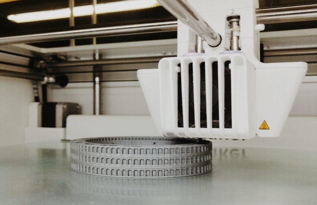 3D printer printing