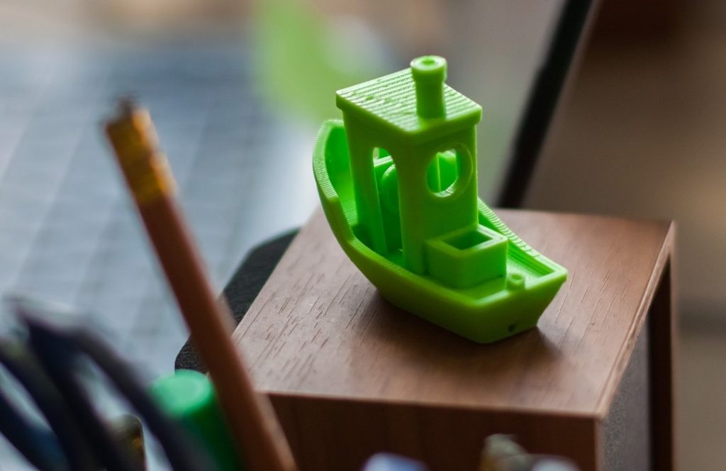 small 3D printed boat