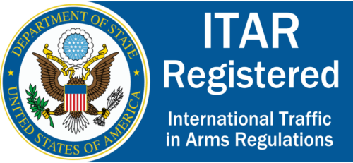 3D Printed Parts is ITAR Registered and Compliant
